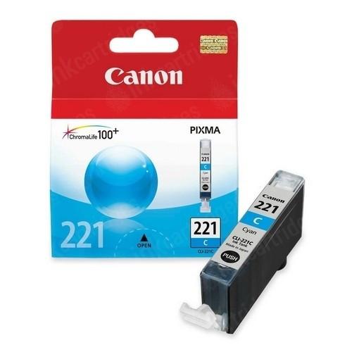 Original Canon CLI221 2947B001 Cyan Inkjet Cartridge