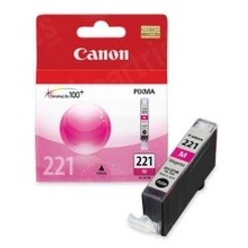 2948B001   Canon CLI221   Original Canon Ink Cartridge – Magenta