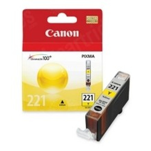 Original Canon CLI221 2949B001 Yellow Inkjet Cartridge