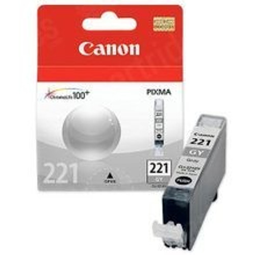 Original Canon CLI221 2950B001 Gray Inkjet Cartridge