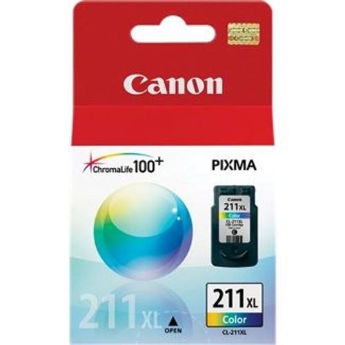 2975B001 | Canon CL211XL | Original Canon High Yield Ink Cartridge – Tricolor