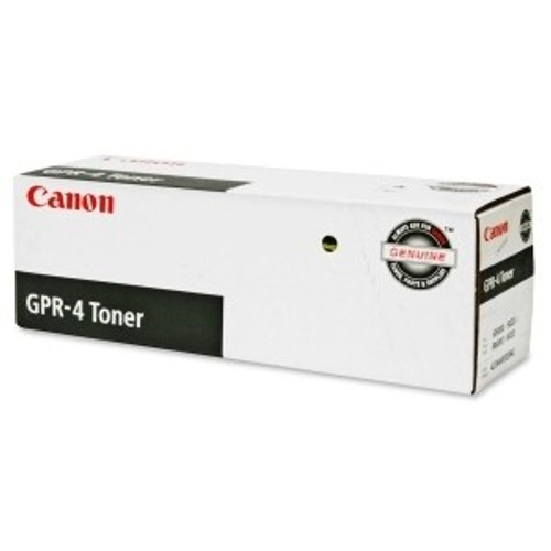 Original Canon GPR-4 4234A003AA Black Laser Toner Cartridge
