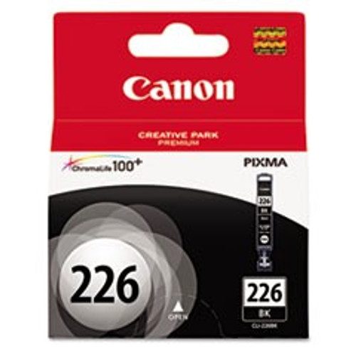 Original Canon CLI226 4546B001AA Black Inkjet Cartridge