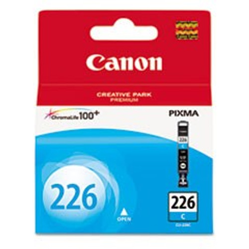 Original Canon CLI226 4547B001AA Cyan Inkjet Cartridge