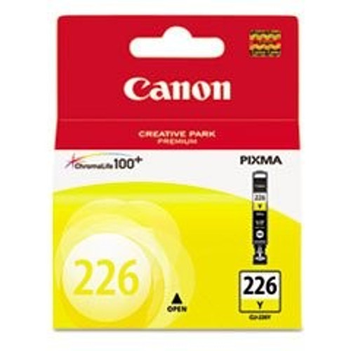 Original Canon CLI226 4549B001AA Yellow Inkjet Cartridge