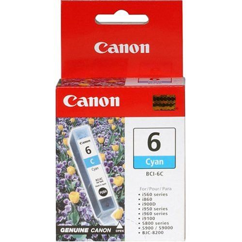 Original Canon BCI-6C 4706A003AA Ink Tank Cartridge