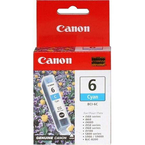 Original Canon BCI-6C 4706A003AA Ink Tank Cartridge