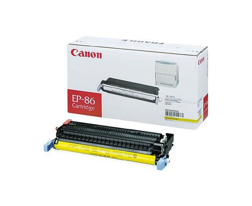 Original Canon EP-87 6827A004AA, Yellow Toner Cartridge High Yield