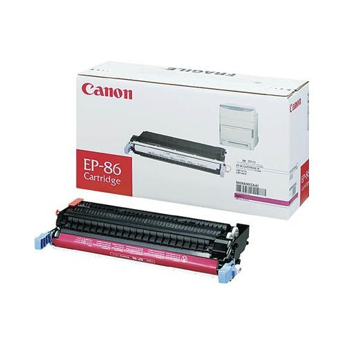 Original Canon EP-87 6828A004AA, Magenta Toner Cartridge High Yield