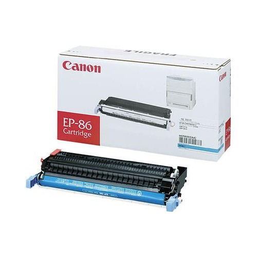 Original Canon EP-87 6829A004AA, Cyan Toner Cartridge High Yield