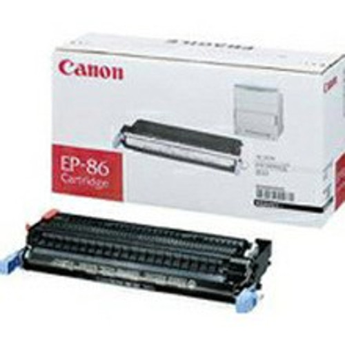 Original Canon EP-86 6830A004AA, Black Toner Cartridge High Yield