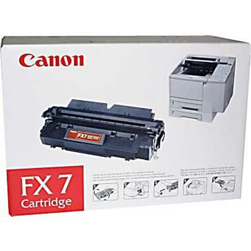 Original Canon FX-7 7621A001AA Black Laser Toner Cartridge