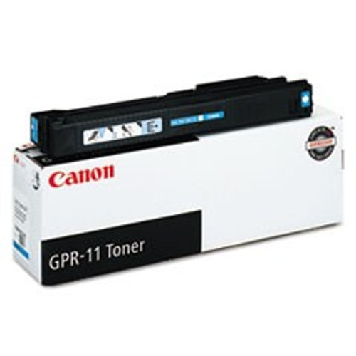 Original Canon GPR-11 7628A001AA Cyan Laser Toner Cartridge