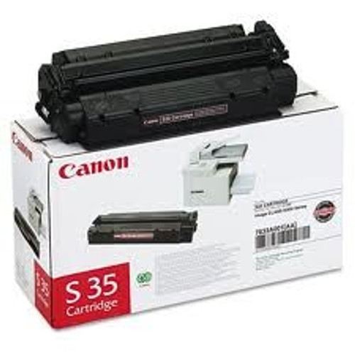 Original Canon S35 7833A001AA Black Laser Toner Cartridge