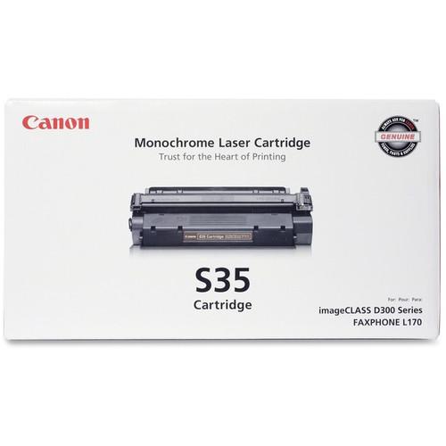 Original Canon S35 7833A001AA Black Laser Toner Cartridge