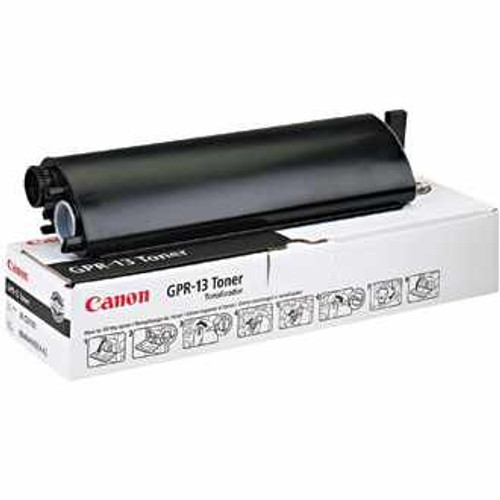 Original Canon GPR-13 8640A003AA Black Laser Toner Cartridge