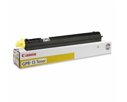 Original Canon GPR-13 8643A003AA Yellow Laser Toner Cartridge