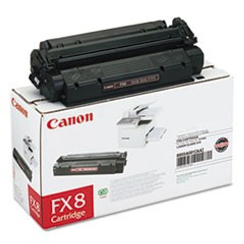 Original Canon FX-8 8955A001AA Black Laser Toner Cartridge
