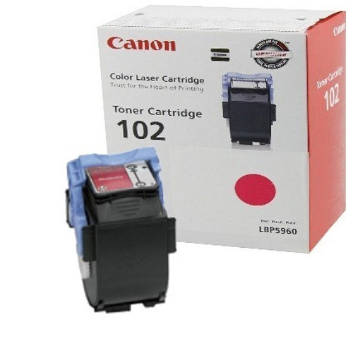 Original Canon CRG-102 9643A006AA Magenta Laser Toner Cartridge LBP5970, LBP5960 Printer