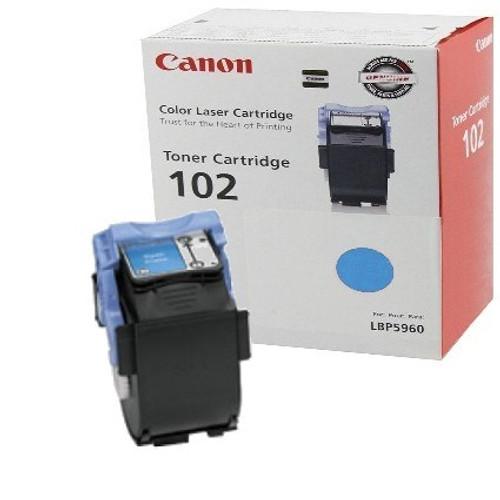 9644A006AA | Canon CRG102 | Original Canon Toner Cartridge – Cyan