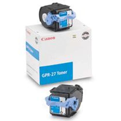 9644A008AA   Canon GPR-27   Original Canon Toner Cartridge – Cyan