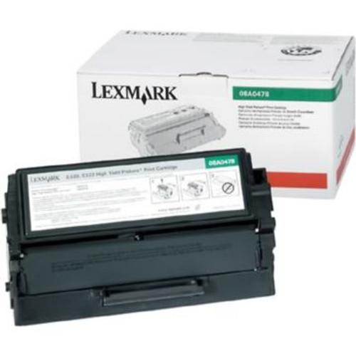 Original Lexmark 08A0478 High-Yield *RP Toner Cartridge  Black
