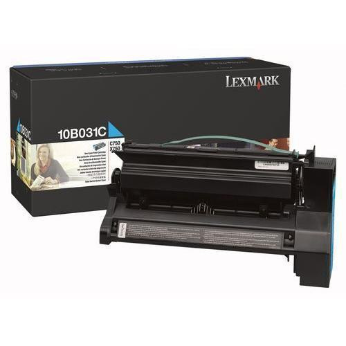 Original Lexmark 10B031C C750 Cyan Toner Cartridge