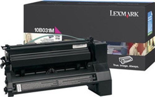 Original Lexmark 10B031M C750 Magenta Toner Cartridge