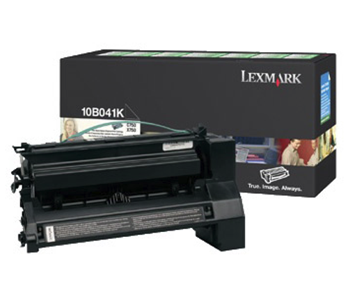 Original Lexmark 10B041K C750 Black Prebate Toner Cartridge