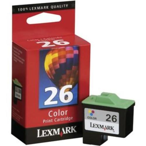 Original Lexmark #26 10N0026 Tri-Color Ink Cartridge