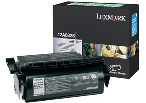 Original Lexmark 12A0825 Optra Se 3455 Toner Cartridge