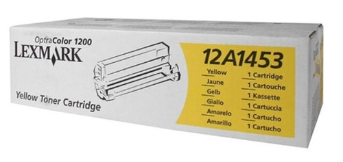 Original Lexmark 12A1453 Optra 1200 Yellow Toner Cartridge
