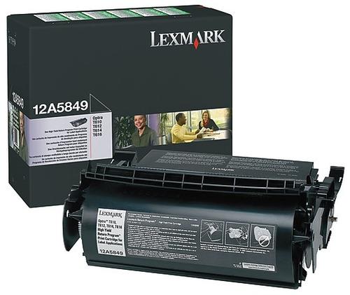 Original Lexmark 12A5849 T610/T612 Prebate Toner Cartridge