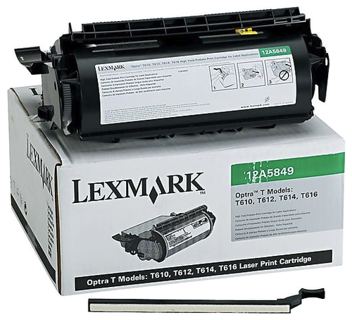 Original Lexmark 12A5849 T610/T612 Prebate Toner Cartridge