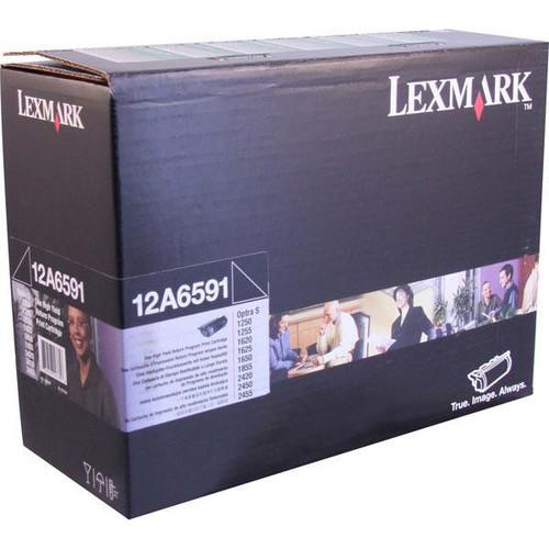 12A6591   Original Lexmark Toner Cartridge – Black