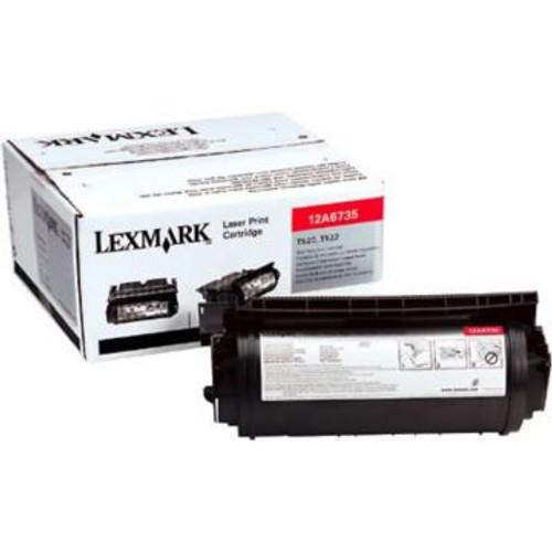 Original Lexmark 12A6735 High-Yield Laser Toner Cartridge