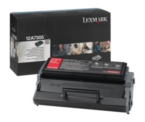 12A7305 | Original Lexmark High-Yield Toner Cartridge – Black