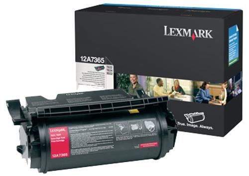 Original Lexmark 12A7365 T632/T634 Black Extra-High Yield Toner Cartridge