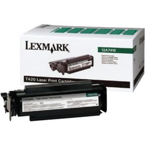 Original Lexmark 12A7410 *RP Laser Toner Cartridge  Black