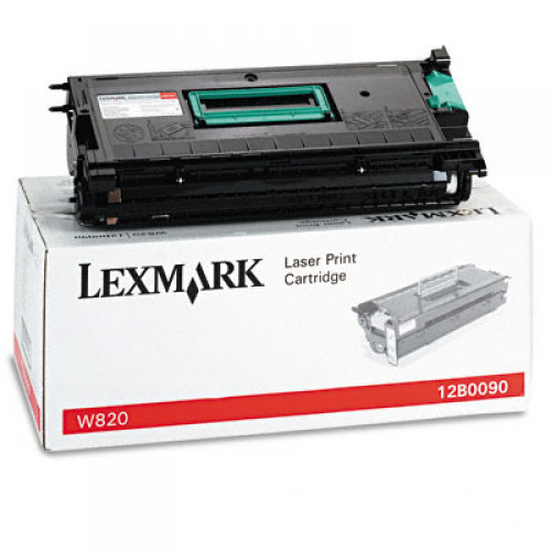 Original Lexmark 12B0090 W820 Black Toner Cartridge