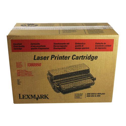 Original Lexmark 1380950 4039/3916 Marathon Black High-Yield Toner Cartridge