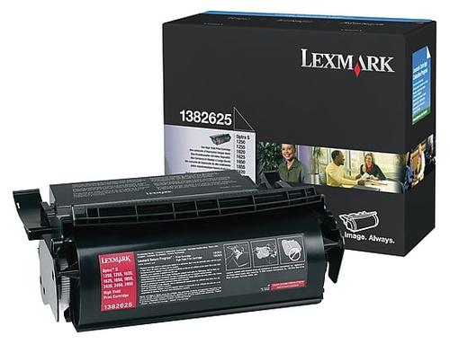 Original Lexmark 1382625 Black High-Yield Toner Cartridge