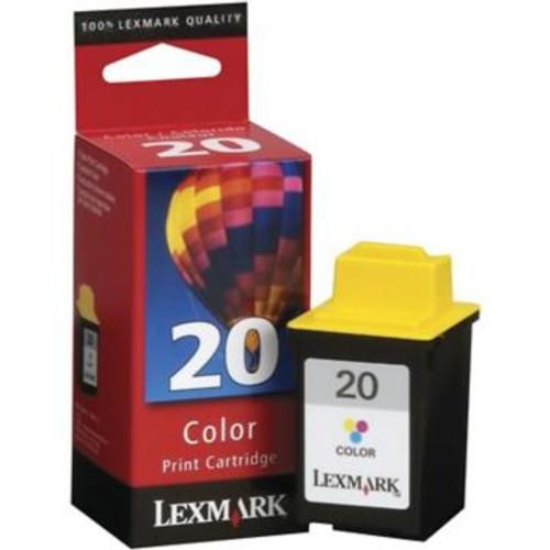 Original Lexmark #20 15M0120 Tri-Color Ink Cartridge