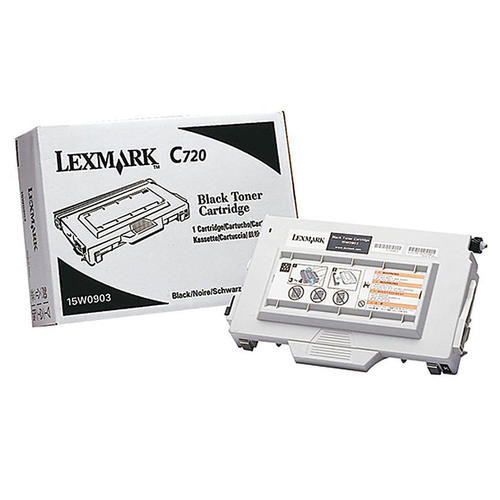 Original Lexmark C720 (15W0903) Laser Print Cartridge  Black