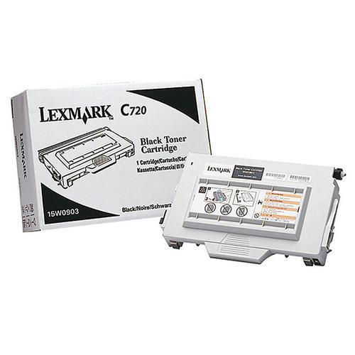 Original Lexmark C720 (15W0903) Laser Print Cartridge  Black