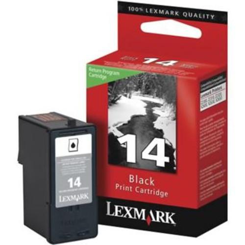 Original Lexmark #14 18C2090 Return Program Inkjet Cartridge  Black