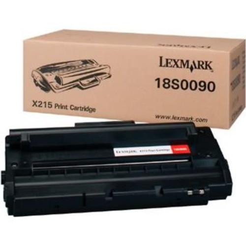 Original Lexmark 18S0090 Laser Toner Cartridge for X215  Black