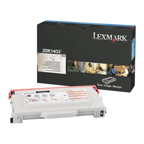 Original Lexmark 20K1403 High Yield Toner Cartridge  Black