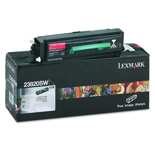 Original Lexmark Black Toner Cartridge  23820SW, High Yield