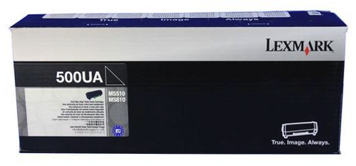 Original Lexmark 50F0UA0 500ua Black Ultra High-Yield Unison Toner Cartridge